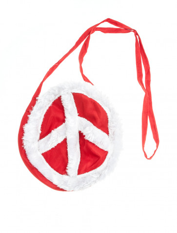 Tasche Peace rot