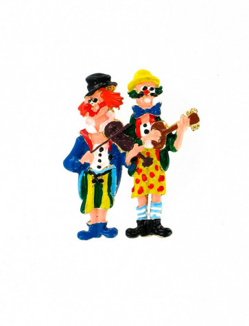 Pin Clowns mit Geige