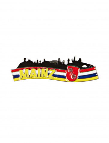 Pin Mainzer Skyline 5cm