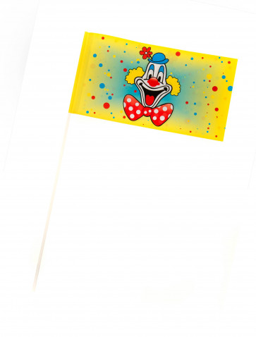 Papierfähnchen Deiters Clown