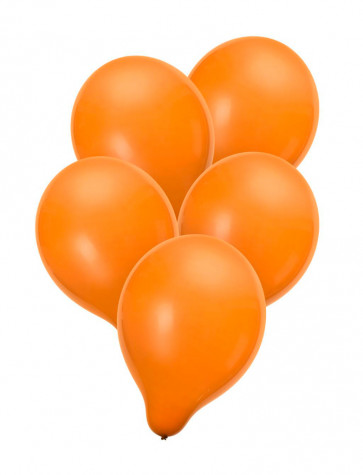 Luftballons orange 50 Stk.