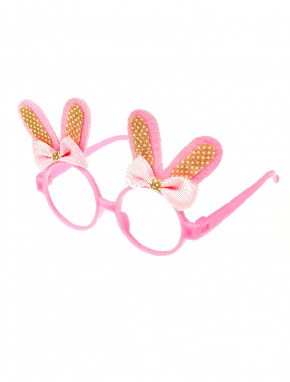 Brille Hase rosa
