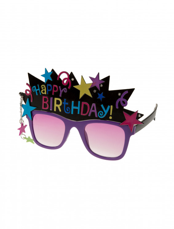 Brille Happy Birthday