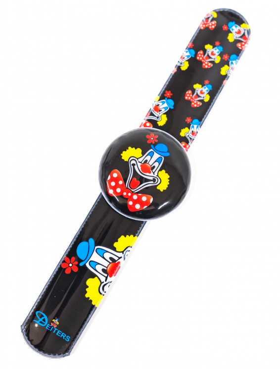 LED Schnapparmband Deiters Clown schwarz