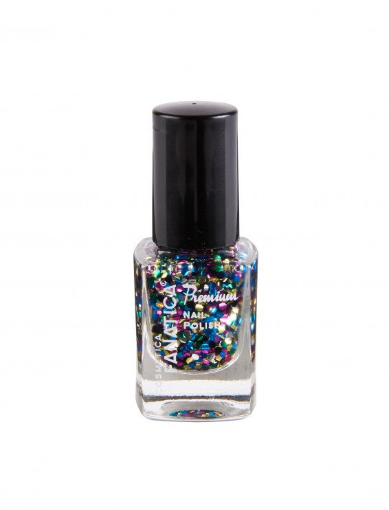 Nagellack Glitzer multicolor 12ml