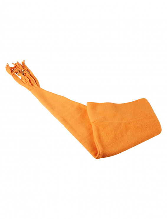 Mütze Fleece orange 100cm