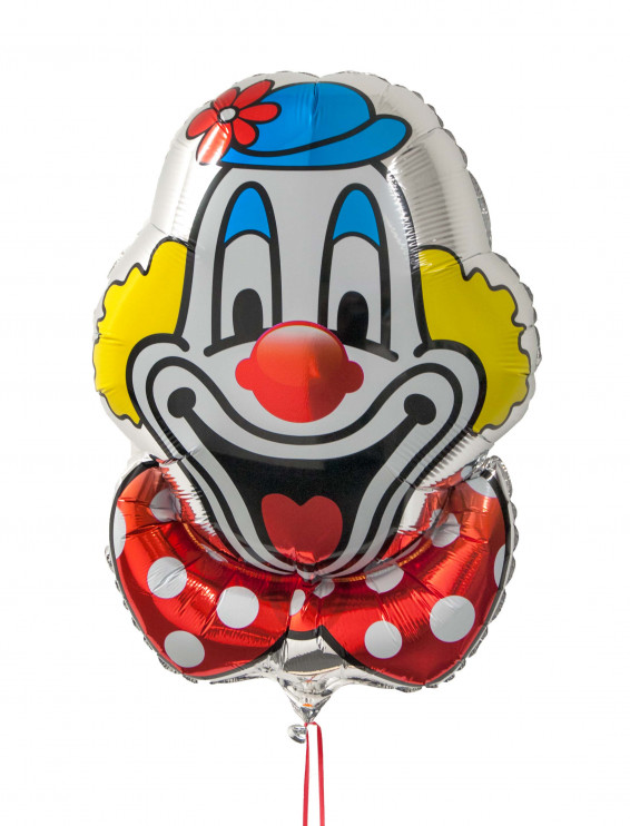Folienballon Deiters Clown