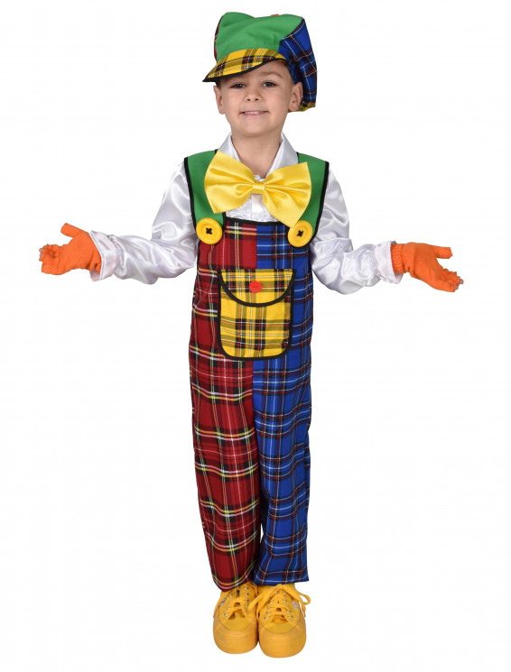 Latzhose Clown Kinder 2-tlg.