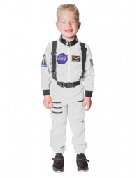 Overall Astronaut Kinder weiß
