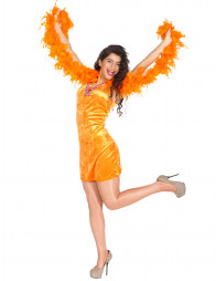Kleid Holland orange
