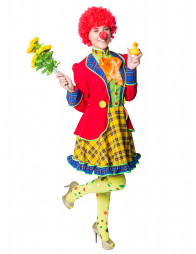 Kleid Clown Pepe Damen
