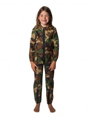 Overall Camouflage Kinder