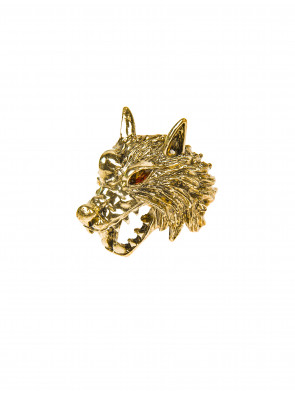 Ring Wolf gold