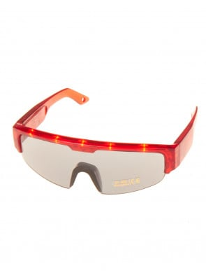 LED Brille rot