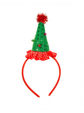 Haarreif Mini Christbaum