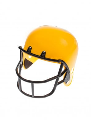 Football Helm gelb