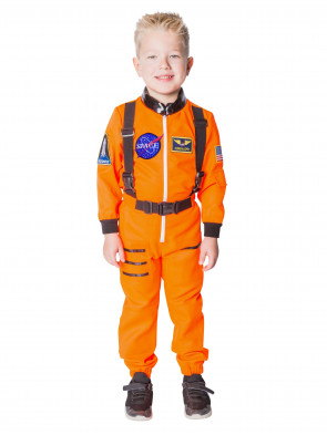 Overall Astronaut Kinder orange