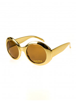Brille Jackie metallic gold