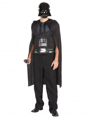 Darth Vader Set Star Wars Erwachsene 3-tlg.