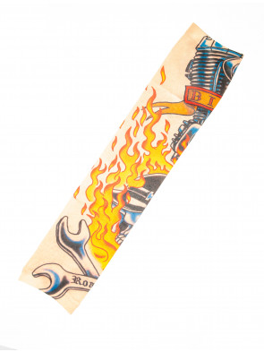 Tattoo-Armstulpe Flammen