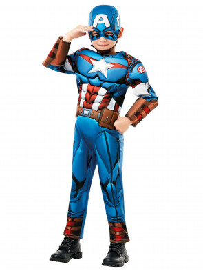 Captain America Deluxe Kinder 2-tlg.