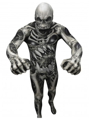 Morphsuit Skelett Horror