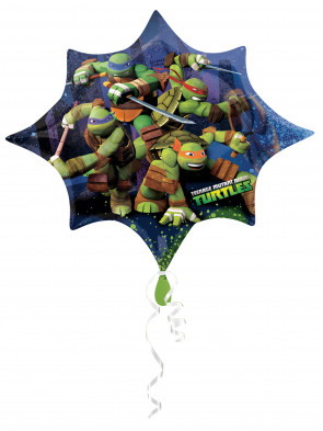 Folienballon Ninja Turtles