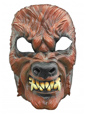 Latexmaske Werwolf