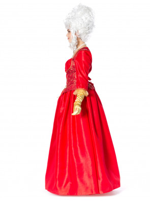 Kleid Marquise rot