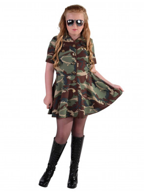 Kleid Army Girl Kinder