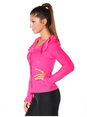 Bluse Jersey pink