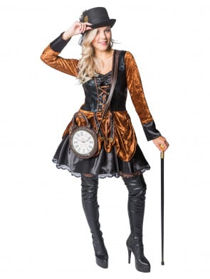 Lookbook Steampunk Lady