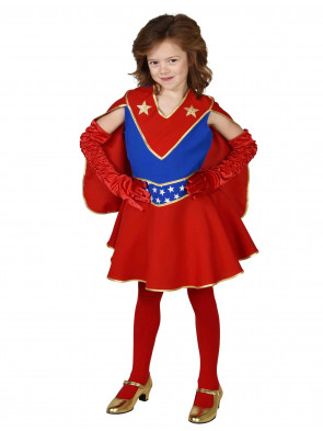 Kleid Superheldin Kinder