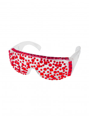 Brille Lady Lala rot