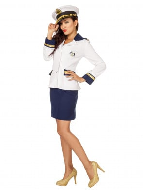 Navy-Set Damen 2-tlg.